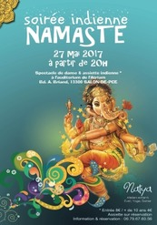 Soirée indienne Namaste