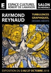 "Exposition "" Turbulences graphiques, dessins inédits"" de Raymond Reynaud"