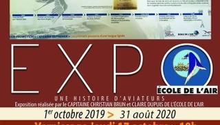 Exposition Une Histoire d'Aviateurs - Salon-de-Provence