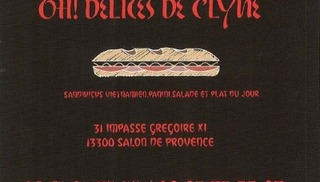 Oh! Délices de C'Lyne - Salon-de-Provence