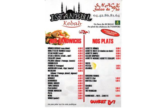 Istanbul kebab 2 - Salon-de-Provence